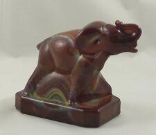 BERMUDA SLAG Boyd Glass ZACK THE ELEPHANT 1-9-85 Brown Yellow #32