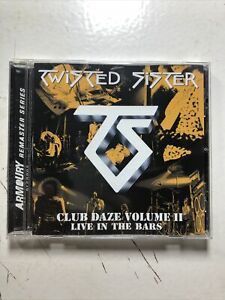 Club Daze, Vol. 2: Live in the Bars Twisted Sister CD, CONCERT ROCK  LIVE