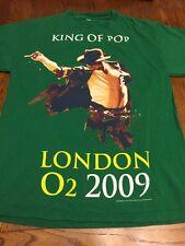 Michael Jackson King Of Pop London O2 2009 T-Shirt