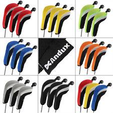 3pcs/set Andux Golf Club Hybrid Head Cover Neoprene Golf Protect  Accessories