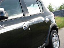 Chrom Türgriffe Blenden Dacia Sandero Stepway ab 2012 aus EDELSTAHL
