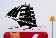 Marine Ship Wall Decal Vinyl Sticker Nautical Pirates Interior Art Decor (23shp)