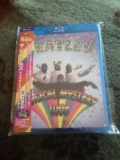 The Beatles Magical Mystery Tour Blu-ray DVD (USA Compatible) Like New OBI