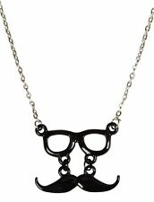 MUSTACHE GLASSES NECKLACE WITH LOVE FROM CALIFORNIA  NEW $30