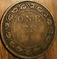 1894? CANADA LARGE CENT PENNY COIN