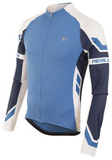 Pearl Izumi 2016 Elite Long Sleeve Bike Bicycle Cycling Jersey Blue X2 - 2XL