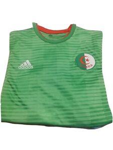 Algeria Adidas Adult Large Shirt Football Soccer 40 42 chest Amazing Condition