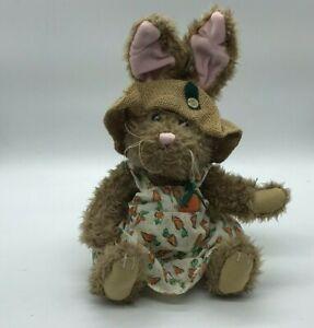 Flora Rabbit Pickford Brass Button Bears Hare of Serenity Bunny Sundress Carrots