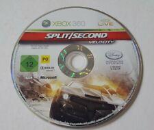 Split Second Velocity XBOX 360 Spiel fahren Rennwagen Geschenk Disc Only
