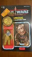 Star Wars COIN POTF WAROK the EWOK action figure toy UNPUNCHED