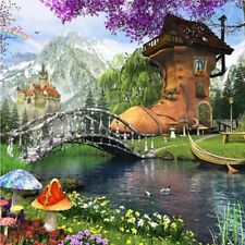 """[Ship from USA] Chamberart 1000Pcs Jigsaw Puzzles - """"Old Shoe House"""" A-1104"""