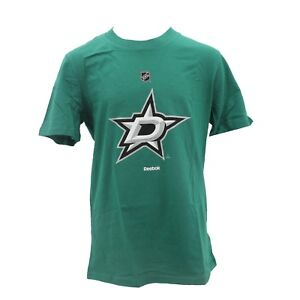 Dallas Stars NHL Official Reebok Apparel Kids Youth Size T-Shirt New with Tags