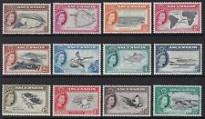 ASCENSION 1956 PICTORIAL SET TO 5s, VERY FINE MINT, CAT £85
