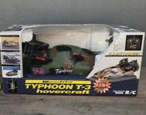 Vintage Taiyo Typhoon RC Hovercraft Unused In Box