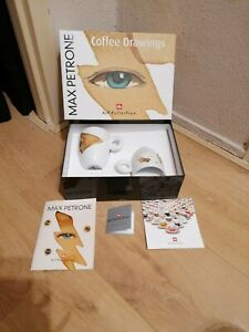 illy Art Collection - Max Petrone Set of 2 Mugs - Limited edition