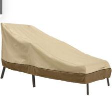 """Classic Accessories Veranda Patio Chaise Lounge Outdoor Cover, Medium 66"""""""
