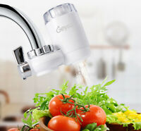 Geysa 6 Stage Universal Faucet Filter with Advanced Water Filtration - White