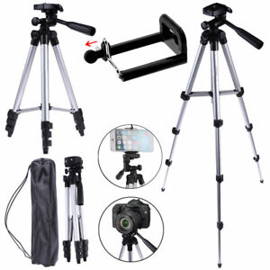 Professional Camera Tripod Stand Holder Mount For iPhone Samsung Smart Phone YA