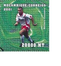 ANTONIO CASSANO ITALIA IN MAGLIA DEL BARI CALCIO SOCCER FOOTBALL MINT MNH**