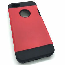 """iPhone 5C Extra Slim Hybrid Hard Armour Tough Shockproof Cover Case 4.0"""""""