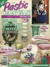 Plastic Canvas World Magazine ~ May 1997, 16+ plastic canvas projects