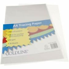 Clairefontaine Goldline A4 Tracing Paper Pads 63gsm 25 Sheets