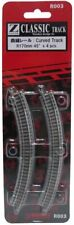 Rokuhan Z Scale R003 curve rail R170mm 45 degrees metoro NEW from Japan