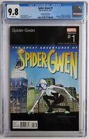 SPIDER GWEN #1 CGC 9.8 HIP HOP VARIANT SLICK RICK ALBUM 📀📀 SPIDER-VERSE 🕸️🕸️