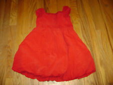 RALPH LAUREN GIRLS HOLIDAY DRESS size 4 4T RED CHRISTMAS 100% COTTON STUNNING