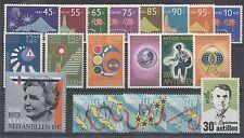 NED. ANTILLEN JAARGANG 1973 POSTFRIS - COMPLEET
