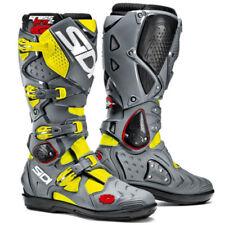 Botas de motocross color principal amarillo