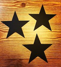 Star Cut Outs (5 inch Black Stars on Sale While Items Last)