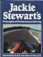 "JACKIE STEWART - ""PRINCIPLES OF PERFORMANCE DRIVING"" - 1st Edn - HB/DW (1986)"