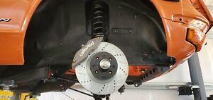 Datsun Z 240Z 260Z 280Z  FRONT Disc Brake Upgrade 4 Piston Wilwood Kit w Rotors