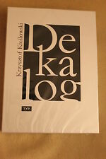Kieślowski Krzysztof - Dekalog (DVD) - POLISH RELEASE ( English Subtitles)