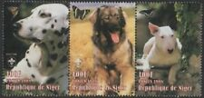 THREE DOGS SCOUTING ANIMALS OF THE WORLD REPUBLIQUE DU NIGER 1998 MNH STAMPS