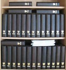 BRD 1981-2000 Ersttagssammelblätter in 31 Alben + 1960-1980 selbstgestaltet