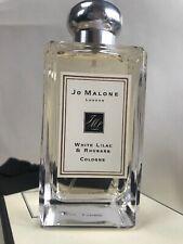 Jo Malone White Lilac & Rhubarb Perfume 100ml Cologne New + Gift Box Discontinue