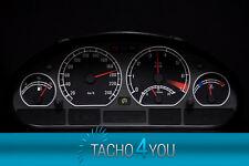 Disco TACHIMETRO PER BMW e46 Tachimetro Benzina o Diesel m3 NERO 3070 TACHIMETRO