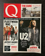 Q Magazine: Fleetwood Mac, U2, The Cure, Jeffrey Archer, July 1987