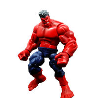 "8"" Red Hulk Marvel Incredible Legends Universe Avengers Loose Toy Action Figure"