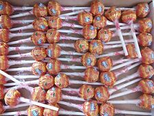 50 orange mini chupa chups lollys bonbons sac fête halloween trick traiter candy