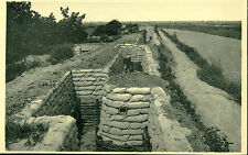 VINTAGE, WWI, THE TRENCH OF DEATH AT DIXMUDE, POSTCARD, #7