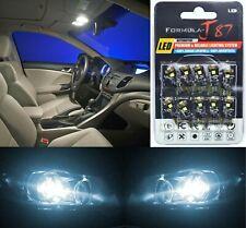 Canbus Error LED Light 194 White 6000K Ten Bulbs Front Side Marker Replace JDM
