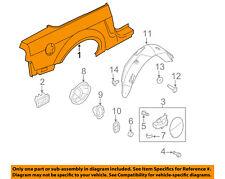 FORD OEM 10-14 Mustang-Quarter Panel Rear Fender Left AR3Z7627841A