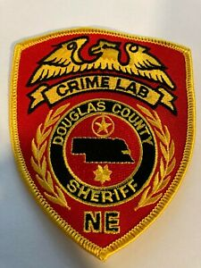 Douglas County Nebraska Sheriff Crime Lab Police Patch
