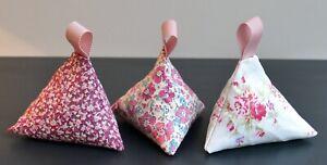 Set of 3 Lavender Bags Kath Kidston & Liberty Fabrics Lovely Fragrant Gift Idea