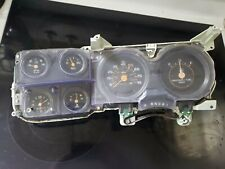 73-87 Chevy/GMC Truck Suburban Blazer Jimmy Gauge Cluster With Clock OEM