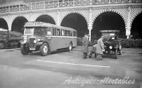 B/W Original Vintage Old Bus Negative WG1448 Alexander  B32