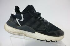ADIDAS Nite Joggers Boost Black Sz 10 Men Running Shoes